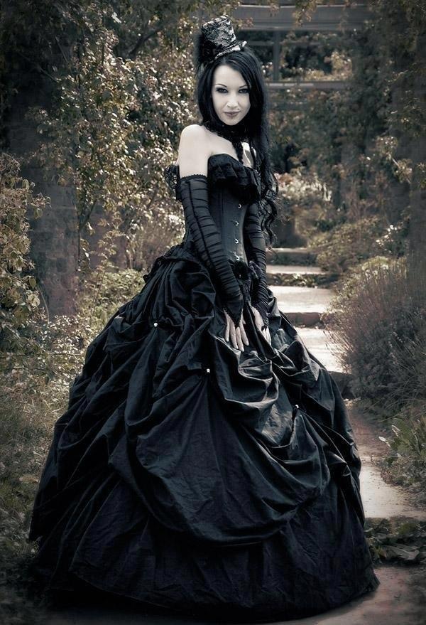 Викторианская готическая мода