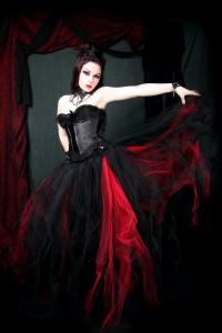 Черно-красное пламя